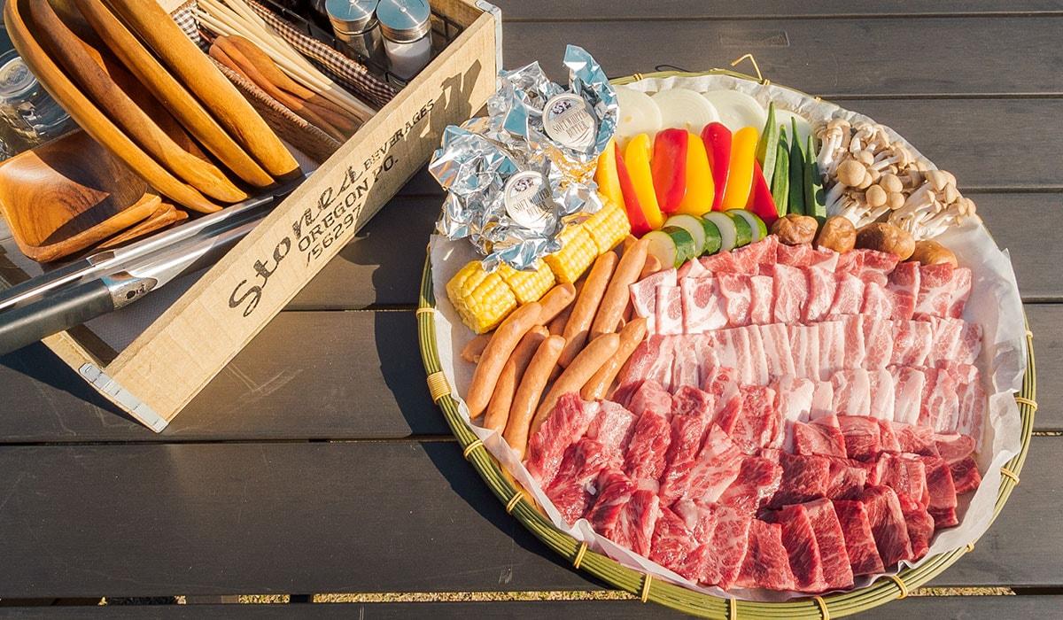 【2020年新メニュー】大満足!肉盛グランピングBBQプラン